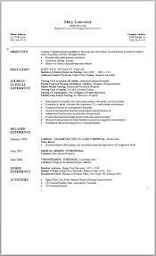 Resume Templates Word 2007 Resume Work Template