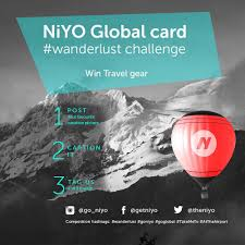 Niyo On Twitter Want To Win Some Travel Gear Post A Picture From