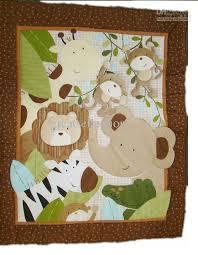 9pcs Appliqued 3D Jungle Animals Boy Baby Cot Crib Bedding set 6 ... & 9pcs Appliqued 3D Jungle Animals Boy Baby Cot Crib Bedding set 6 items  includes Comforter Crib Sheet Bumper Bedskirt Storage Bag Blanket Adamdwight.com