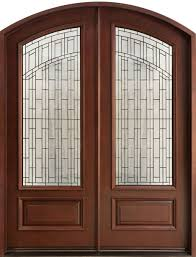 Front Doors double front doors with glass photos : Furniture: Engaging Picture Of Curved Arched Solid Cherry Wood ...