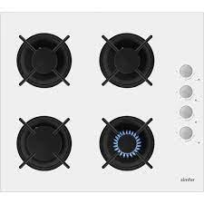 Simfer 3'lü Ankastre Set Cam Beyaz (7310 Fırın + 3507 Ocak + Fiyatı