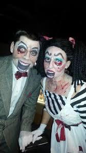 Creepy Scary Ventriloquist Dummy, Dolls Couple Halloween Costume Contest  Winner