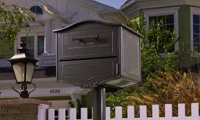 residential mailboxes and posts. Image Of: Classic Types Residential Mailboxes With Post And Posts O