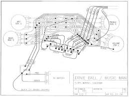 stingray 5 pre amp and coil selector schematic