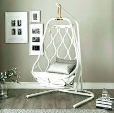 hanging swing chair indoor india zen like black rattan dream house
