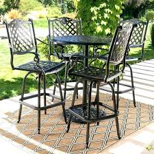 bar height patio dining set bar height patio sets patio bar sets 5 piece bar bar