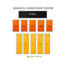 Borgata Venue Seating Chart Il Volo Atlantic City Tickets 2 8 2020 Vivid Seats