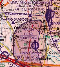 Limc Airport Charts Italy Set Of 2 Wallcharts Icao Vfr Aeronautical Charts 500k 2019