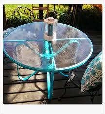 how i transformed this old rusty table into a beautiful shiny patio prize piece