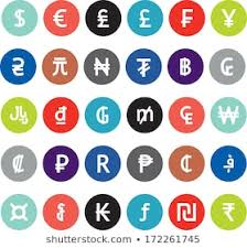 Royalty Free Currency Symbols Images Stock Photos Vectors