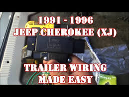 jeep cherokee trailer wiring image xj trailer wiring harness wiring diagram schematics baudetails on 2000 jeep cherokee trailer wiring