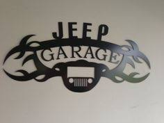 yj jeep wrangler kicker 8 inch sub and 4x6 front speakers shops jeep wrangler garage sign