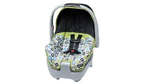 infant car seat design with