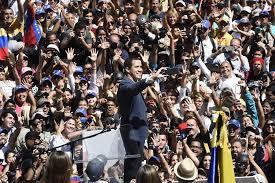 Guaidó anuncia que el 23 de febrero ingresará la ayuda humanitaria a  Venezuela | Noticias | Agencia Peruana de Noticias Andina