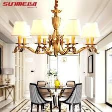 dining room lamp shades vintage modern led chandeliers with lamp shades er chandelier for living room dining room lamp shades