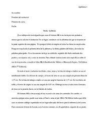 formato de informe en word documento de estilo mla