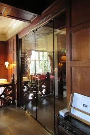 fire rated glass doors can be set into full height and width fire rated glass screens or partitions