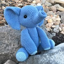 Elephant Pattern Beauteous Esther The Elephant Free Amigurumi Pattern Jess Huff