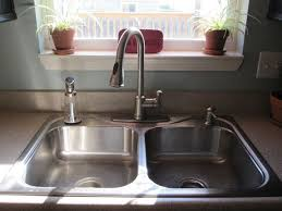 The Kitchen Sink And My Favorite Accessories  Infarrantly CreativeKitchen Sink Built In Soap Dispenser