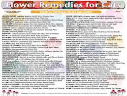 Bach Flower Remedies Chart Woofs Hoofs Animal Massage Webshop Feline Flower