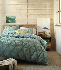 west elm s organic cotton pintuck duvet cover and shams are gots certified and add a rich layer of texture to the bedroom starting at 24 for a standard