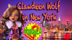 monster high doll clawdeen wolf visits new york a cool monster high video on msplayla you