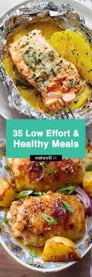 Healthy recipes, recipes, recipes for dinner, easy recipes, easy dinner recipes, brunch recipes, sweets recipes, clean food ideas. Easy Healthy Dinner Ideas 48 Low Effort And Healthy Dinner Recipes Eatwell101