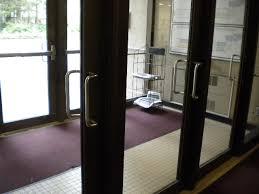 push door handles. push sign on a pull door handles n