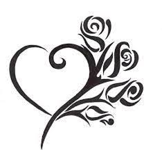 Awesome Heart Designs 50 Awesome Flower Tattoos Ideas For Valentines Day Tribal