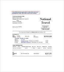 Travels Bill Book Format Travel Agency Bill Book Format In Word And Sample Travel Bill Format
