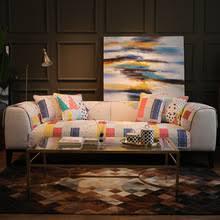 Sofa Cushion Cover Four Seasons Universal Cotton Household Anti ...