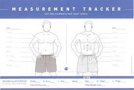 Male Body Measurements For Weight Loss