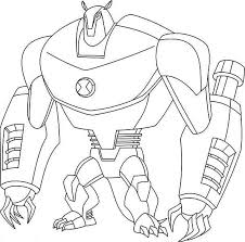 Small Picture Gallery of Ben 10 Coloring Pages cartoonFree Coloring Pages For