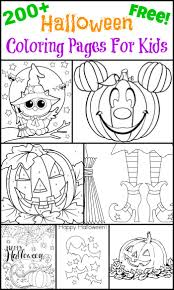 200 Free Halloween Coloring Pages For