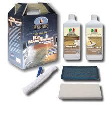 Marbec kit di manutenzione per legno e parquet verniciato