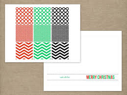 handmade modern or nt holiday card print templates for holiday or nt cards