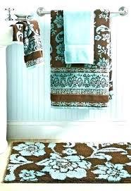 brown bath rugs blue and brown bathroom teal and brown bathroom teal bathroom decor decoration blue