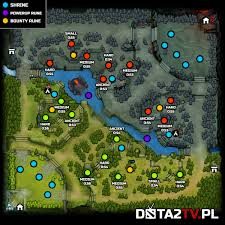 great quality map with new runes spots stack minutes and shrines