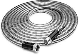 Amazon.com : Tiabo Metal Garden Hose 25ft <b>304 Stainless Steel</b> ...
