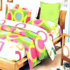 lime green duvet cover bedding sets hot pink circle dot teen girl set twin full queen lime green duvet cover
