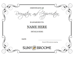 certificate of recognition templates template certificate of recognition appreciation
