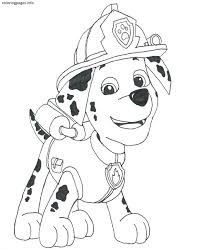 Small Picture PAW PATROL Coloring Pages PDF Free coloring pages