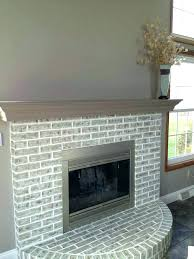 painted brick fireplace brick electric fireplace faux painting brick fireplace completed fireplace painted over red brick