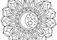 Spring Stained Glass Coloring Pages Printable Coloring Page For Kids