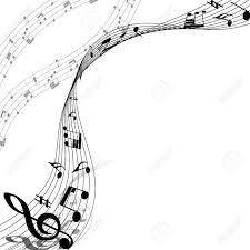Music Staff Treble Clef Musical Design Elements From Music Staff With Treble Clef And