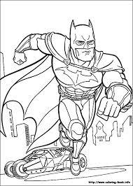 Batman Coloring Pages Dc