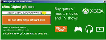 xbox gift card code astuce