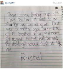 This Little Girl Broke Up With Her Boyfriend With A Letter Has More