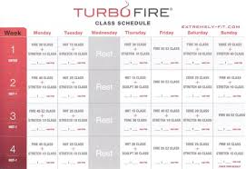 turbo fire cl schedule turbo fire reviews calendar and fitness guide