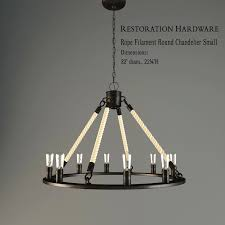 top 72 exceptional restoration hardware chandelier installation instructions rope filament round small model mtl orb ha